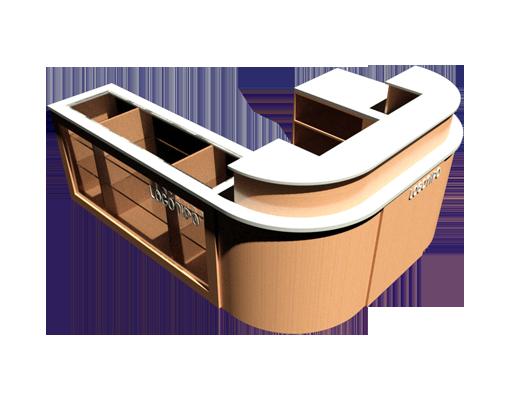 mobiliario comercial de madera para tiendas