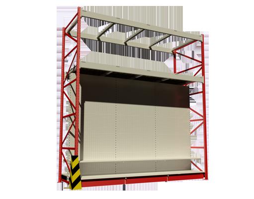 estanterías metálicas- Racks para tiendas y almacenamiento